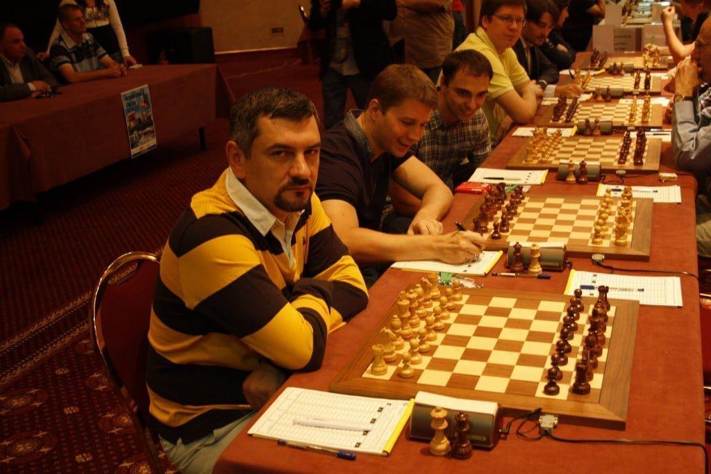1st Round at ECC cu Victor Bologan