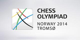 Chess Olympiad Tromso 2014 logo