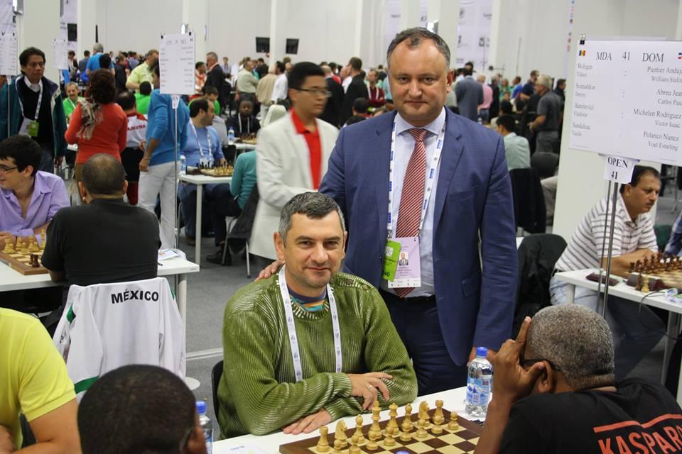 Olimpiada Mondiala 2014 Bologan - Dodon