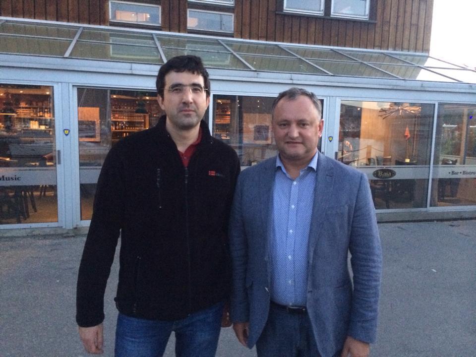 Olimpiada Mondiala 2014 Kramnik - Dodon