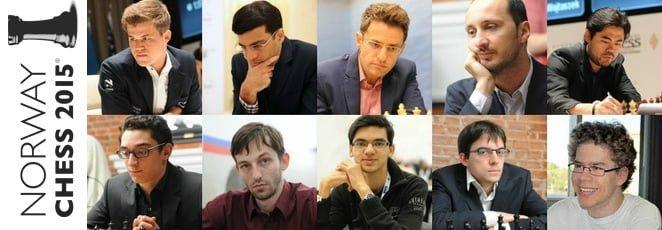 Norway Chess 2015 centru