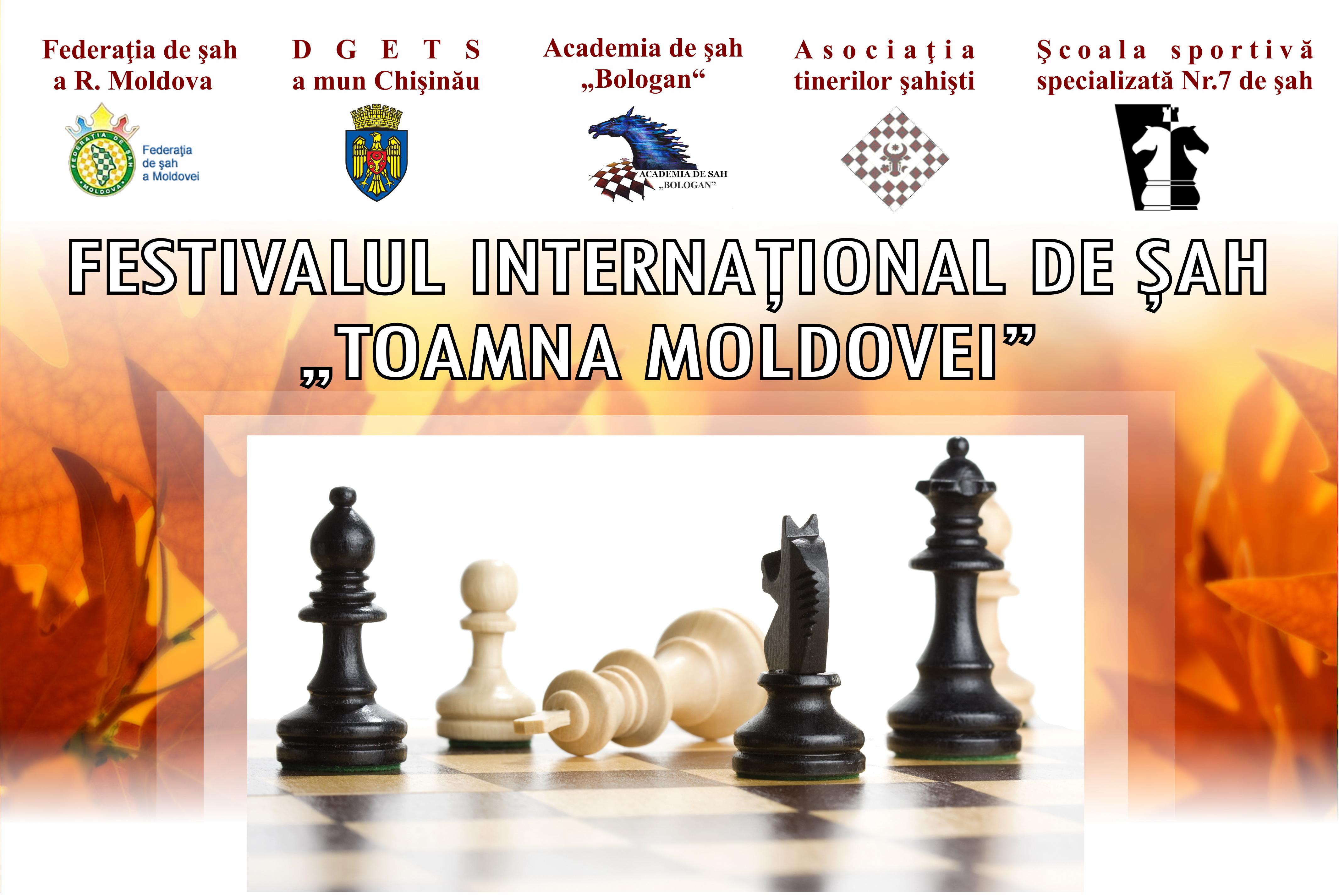 "Turneul International la Șah ""Toamna Moldovei – 2015"""
