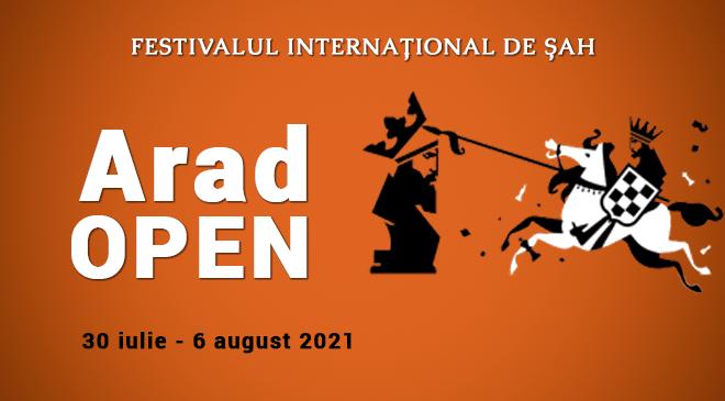 (MD) Festivalul Internațional de Șah Arad Open 2021