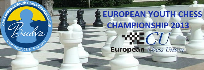 European Youth U8-18 Chess Championship 2013