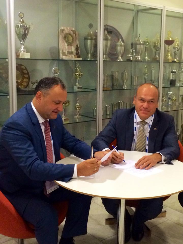 Congres FIDE Semnare Acord