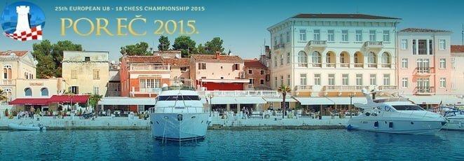 European Youth U8 – U18 Championship 2015 centru