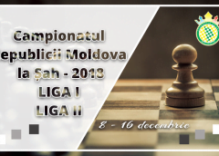 Campionatul Republicii Moldova la Șah – 2018 | Liga I | Liga II